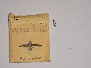 Waltham balance staff 1900-07 1907 20208 axe de balancier  Unruhwelle Ronda 2518