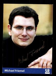 Tv Michael Friemel Autogrammkarte Original Signiert # Bc 82235 Fabriken Und Minen