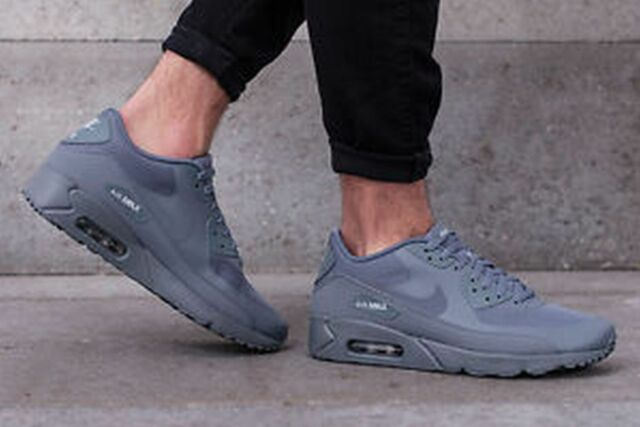 cheap for discount 92cf3 a4c51 Nike Air Max 90 Ultra 2.0 Essential Cool Gey Wolf Grey 875695 003 Mens Sz
