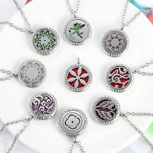 Aroma-Box-Necklace-Magnetic-Aromatherapy-Essential-Oil-Perfume-Locket-Pendant