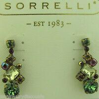 Sorrelli Water Lily Earrings Ecf6agwl Antique Gold Tone
