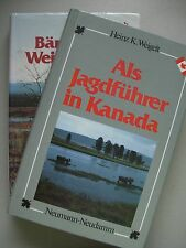 2 Bücher ALs Jagdführer in Kanada + Bären Elche Weiße Schafe Hochwildjagd