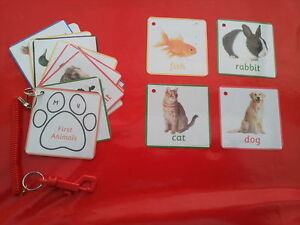 EYFS 16 picture /& word cards childminder Farm Animal Flash Cards