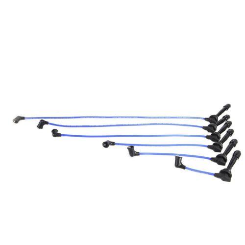 6x Ignition Spark Plug Wires For Tiburon Sonata Santa Fe 2.7LV6 High Performance