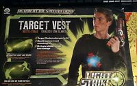Wowwee Light Strike Laser Tag Target Vest Shield W Interactive Light & Sound