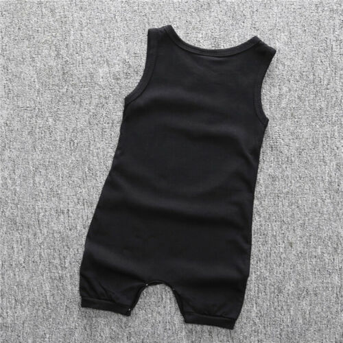 Newborn Kids Baby Boy Girl Infant Casual Romper Jumpsuit Bodysuit Clothes Outfit