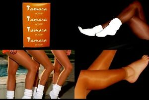 8056f14564f73 Image is loading Tamara-Footless-Pantyhose-Hooters-Uniform-Holiday-Lingerie- Tights-