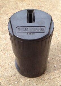 BLACK NEW CONDITION! Parking Meter COIN CUP Duncan Miller ORIGINAL