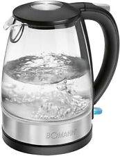 Artikelbild Bomann WKS6026GCB Wasserkocher, 2200 Watt, edelstahl/glas