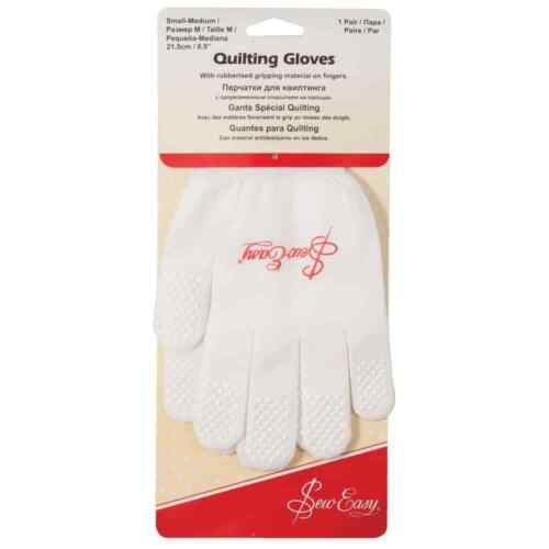 Sew Easy Quilting Gloves Small//Medium