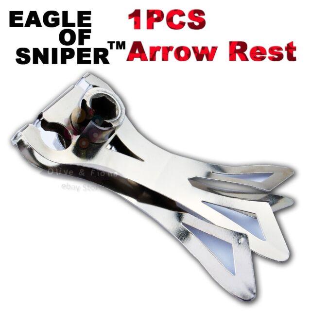 Thinkbay Stainless Steel Catapult Arrow Rest/Brace Eagle of Sniper G7 Slingshot