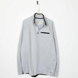Vintage-FILA-Small-Logo-Polyester-1-4-Zip-Sweatshirt-Grey-Large-L