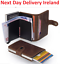 MEN-Women-PU-Leather-RFID-Blocking-Purse-Credit-Card-Holder-Money-Wallet-Blocker thumbnail 1