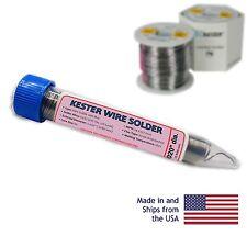 Kester 44 Rosin Core Solder 6337 020 0317 Oz Dispenser Pack