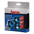 Hama Cd-/dvd-ringbuch-hüllen 50er Pack schwarz