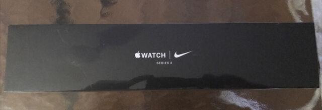 Apple Watch Nike+ Series 3 38mm Space Gray Aluminium Case MTF12LL/A BRAND NEW!!