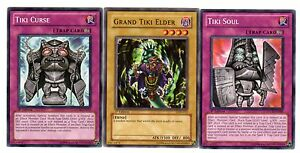 Tiki Soul Yugioh Card Genuine Yu-Gi-Oh Card