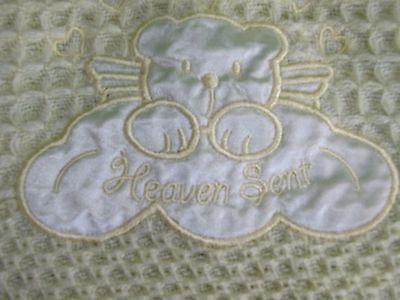 "Kidgets Baby Blanket /""Heaven Sent/"" Warm /& Cozy size 30 x 30  NWT"