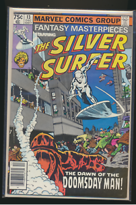 The-Silver-Surfer-Fantasy-Masterpieces-13-December-1980-Marvel-Comic-Book-VF