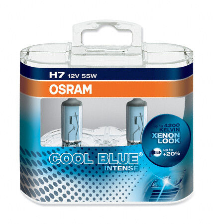 B H7 Osram Cool Blue VAUXHALL MOVANO Mk II Chassis//Cab 10-/> Low Beam Bulbs