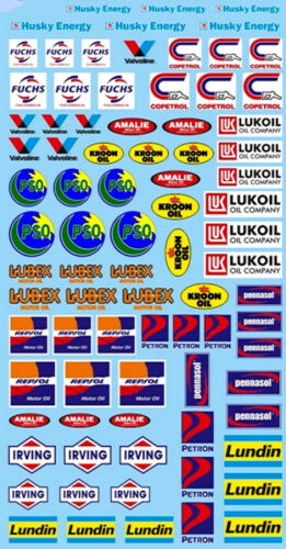 Oil Oil Products 21 Sponsors Decal 195 X 100 mm 124 Decal