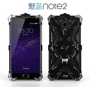 sale retailer ab7f8 b77ff Details about Simon Thor Aluminum Meizu Meilan Note 1 2 3 M2 Note Cover  Case Shockproof Bumper
