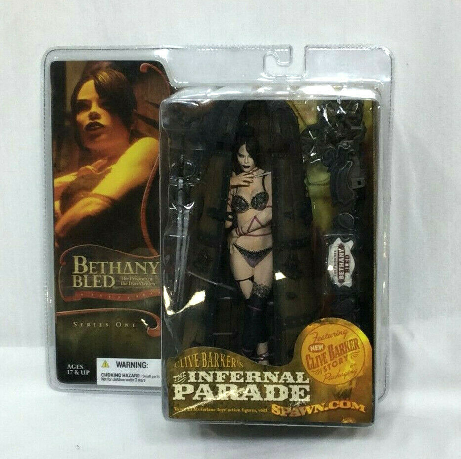 2004 McFarlane Clive Barker's The Infernal Parade Bethany Bled figura serie 1