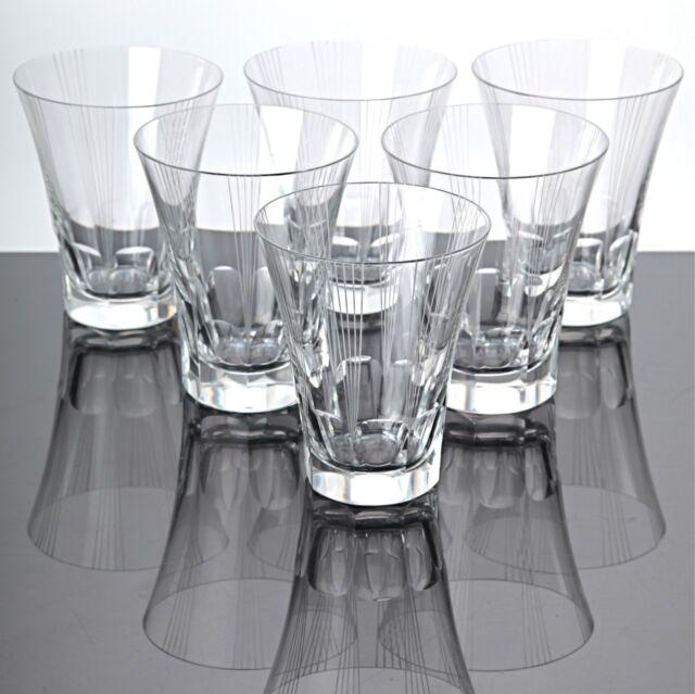 6 Becher Gläser Trinkgläser Wassergläser Saftgläser Vintage ~ 40er Jahre Gläser