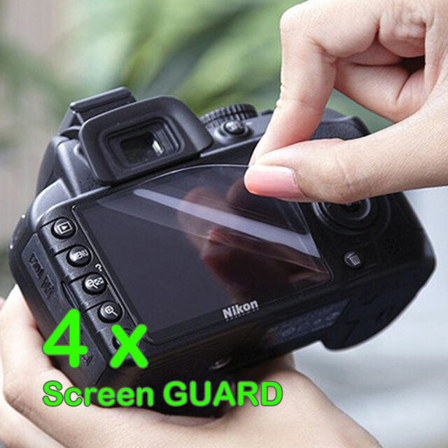 4 x Camera LCD Screen Protector Guard For Fujifilm Camera