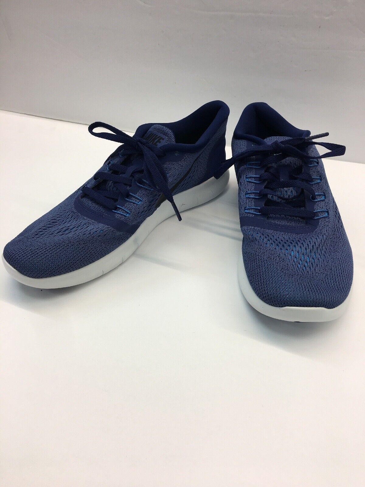Nike Free RN 831508-500 Mens Running shoes Dark Purple & Black SIZE 8 NEW