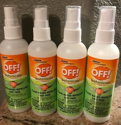 Off Botanicals Plant Based Insect Repellent Deet Free Spray