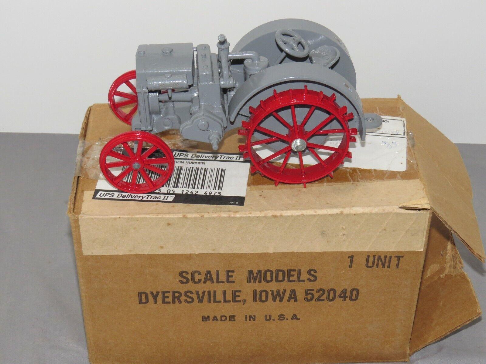 Vintage Case 15-27 Gas Engine Crossmotor Tractor Scale Models 1/16 NIB In BOX