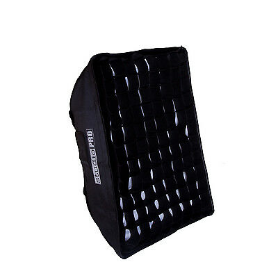 "StudioPRO 36""x48"" Bowens Grid Softbox Rectangle Flash Strobe Monolight"