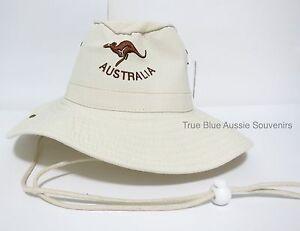 fc8351acf75 Image is loading 1x-Australia-Souvenir-Slouch-Hat-Wide-Brim-Kangaroo-