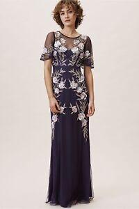 BHLDN-Aidan-Mattox-Tandy-Dress-Eggplant-Purple-Beaded-NWT-Many-Sizes-Retail-495