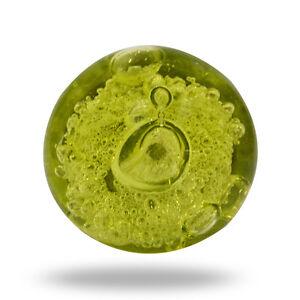 Glass Jones Bead Olive Green Cupboard Cabinet Door Knob Drawer Pull ...