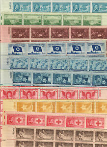 US $45.00 FACE MINT / NH POSTAGE LOT OF THIRTY (30) 3¢ SHEETS of 50 STAMPS EACH!