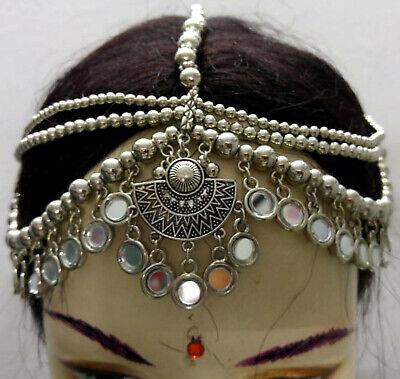 Ethnic Kuchi Tribal Head Piece Belly Dance Jewelry ATS Gypsy Boho Afghan Jewelry