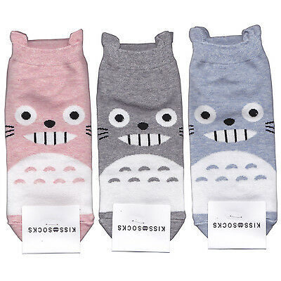 My Neighbor Totoro socks for Woman 3 Pair of socks ship:2.35