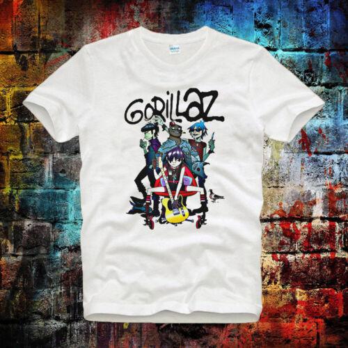 Gorillaz demons no more blur ideal gift  Tee Top Unisex T Shirt B342
