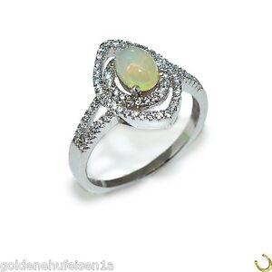 Edel-Opal-Ring-aus-925er-Sterlingsilber-Damen-Frauen-Fingerring-mit-Edelstein