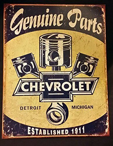 Chevrolet Chevy Sign Vintage Retro Cars Tin Wall Art Home Garage Man Cave  Decor | EBay