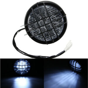 5inch-LED-Motorcycle-Grill-Headlight-Light-For-Harley-Chopper-Bobber