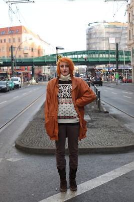 Radient Norvegesi Lavorazione A Maglia Pullover Maglione Lana Vergine 70s True Vintage 70er Wool Sweater-mostra Il Titolo Originale In Corto Rifornimento