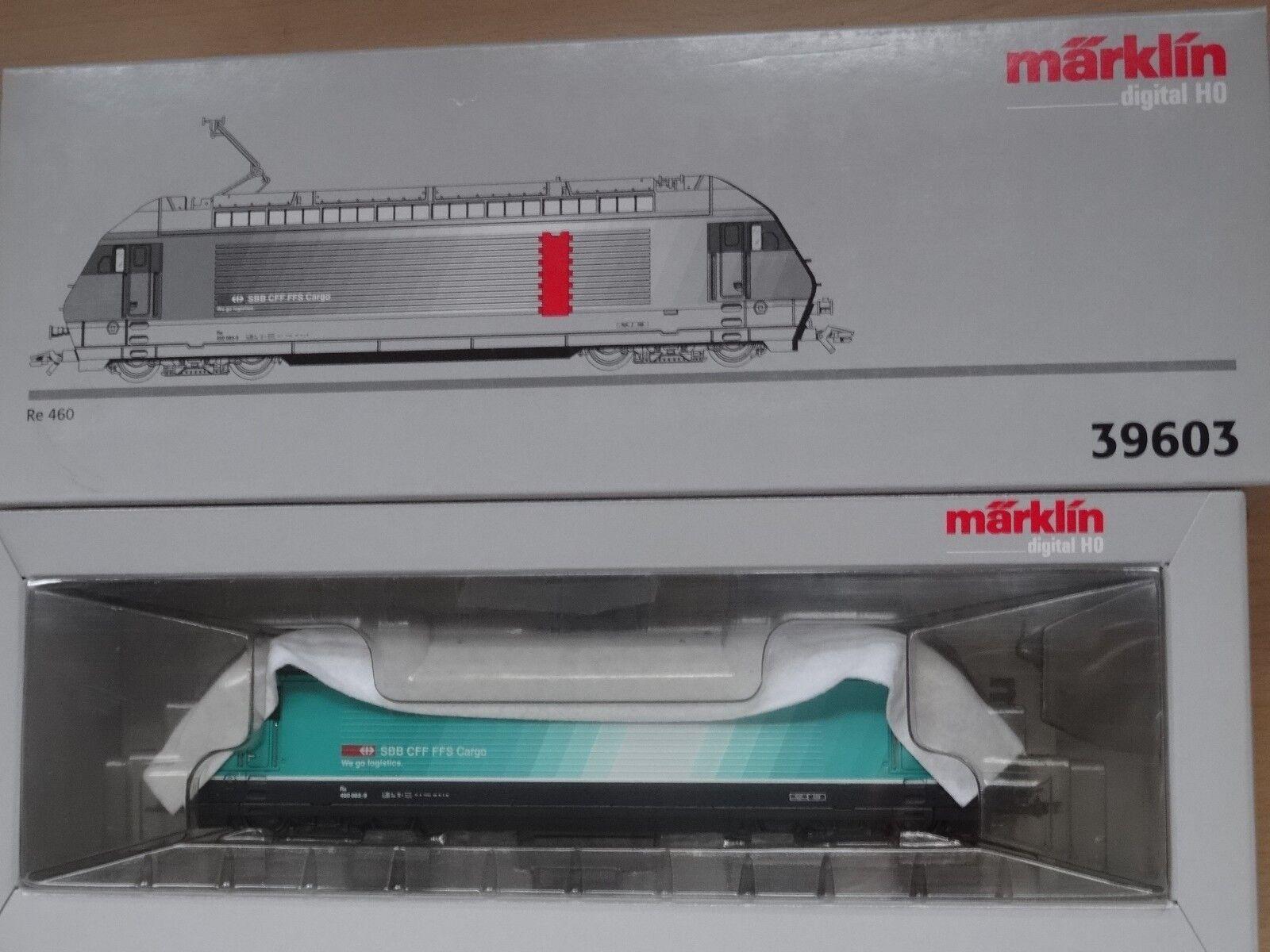 produttori fornitura diretta marklin HO ART 39603 E-Lok re 460 delle delle delle SBB, Dig Nuovo Scatola Originale  consegna veloce
