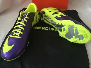 Details About Nike Mercurial Vapor Ix Fg Fussball Stollen Outfit Herren Grosse 9 Made In Italy