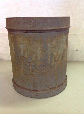 Vintage Antique Pages Dairy Toledo Ohio Ice Cream Milk Metal Can Bucket Pail Ebay