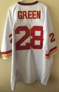 finest selection cabbb bef2e Details about Darrell Green White #28 Redskins Mitchell&Ness TB Jersey Size  56 NEW With Tags