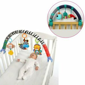 Baby-Stroller-Bed-Crib-Hanging-Toys-For-Tots-Cots-Seat-Cute-Plush-Rattles