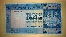Hong Kong 50 Dollars banknote (1969) ...